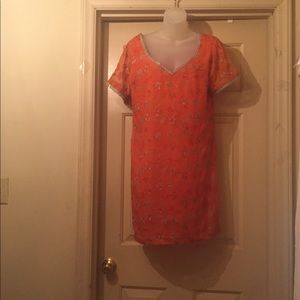 Tops - Orange tunic.